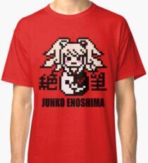 Junko Enoshima Pixel Classic T-Shirt