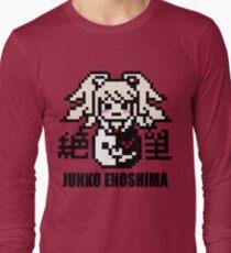 Junko Enoshima Pixel Long Sleeve T-Shirt