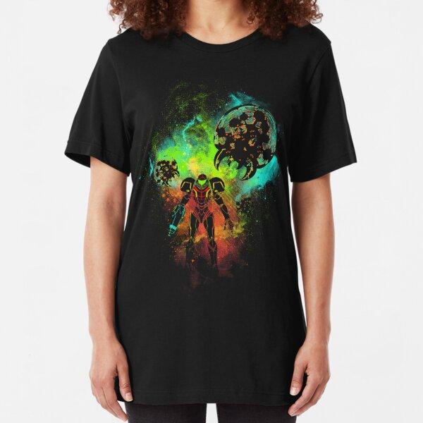 Cazarrecompensas del espacio Camiseta ajustada