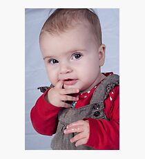 Darcey, my Daughter Photographic Print