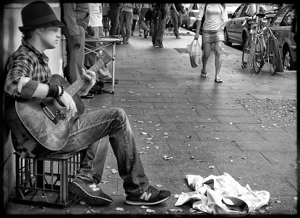 Musician by Adriano Carrideo