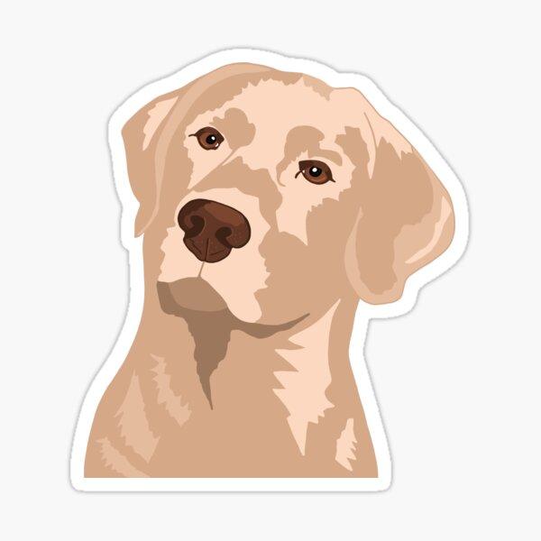 Goldie the Lab Sticker