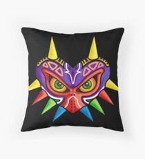 Majora's Grump Throw Pillow