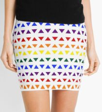 Pride Triangles Mini Skirt