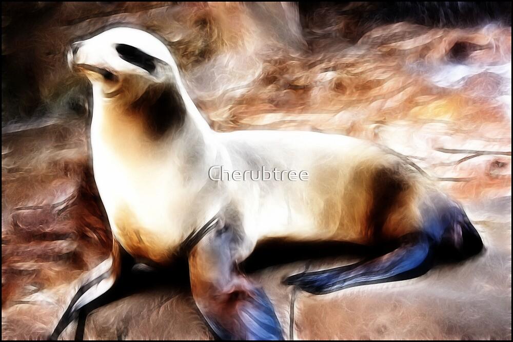 Silken Seal: by Cherubtree