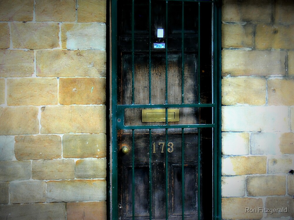 Behind the Door  by Ron Fitzgerald