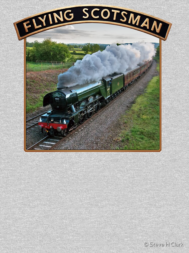 Flying Scotsman and Nameplate by SteveHClark