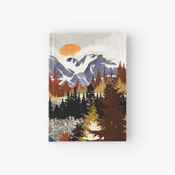Autumn River Hardcover Journal
