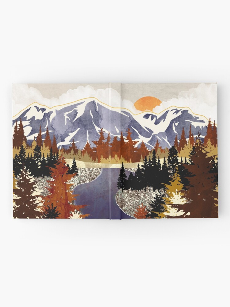 Alternate view of Autumn River Hardcover Journal