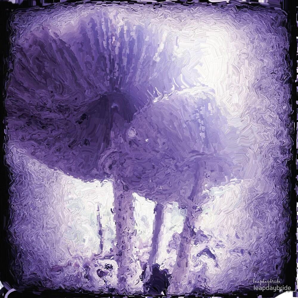 purple funkus by leapdaybride