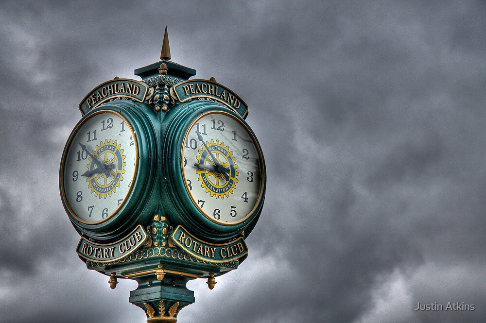 Peachland Clock by Justin Atkins