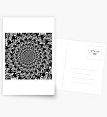 Always Stoic - Stay Stoic Always - Full Circle in White Postcards