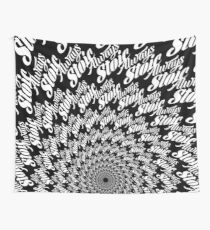 Always Stoic - Stay Stoic Always - Full Circle in White Wall Tapestry