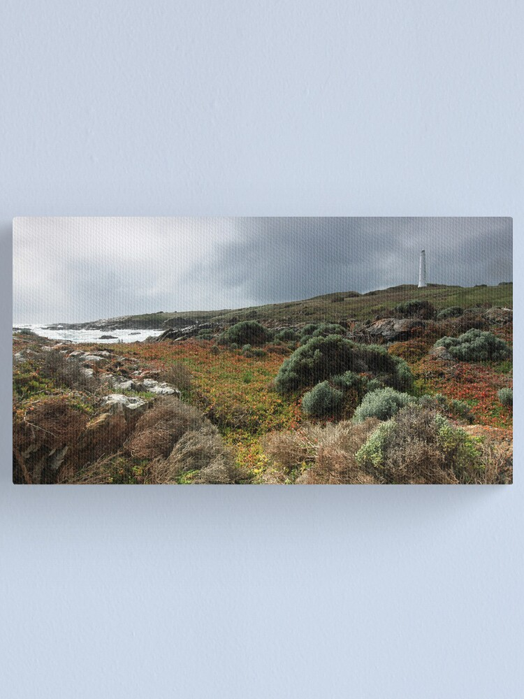 Alternate view of Cape Wickham Lighthouse - King Island Canvas Print