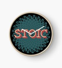 Stoic - The Joy of Being Clock