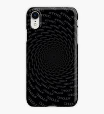 Stoic - Vortex to Calm - Stay Stoic iPhone Case