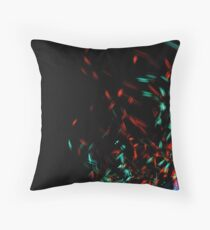 Stars Coughing Sparks by Bradley Blalock Throw Pillow