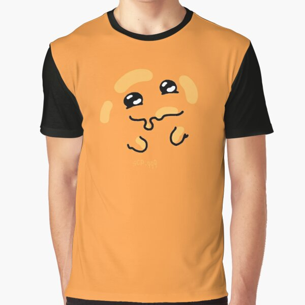 """All over SCP-999 """"orange blob tickle monster"""" Graphic T-Shirt"""
