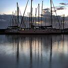 Three Masts at Brighton Marina by JHP Unique and Beautiful Images