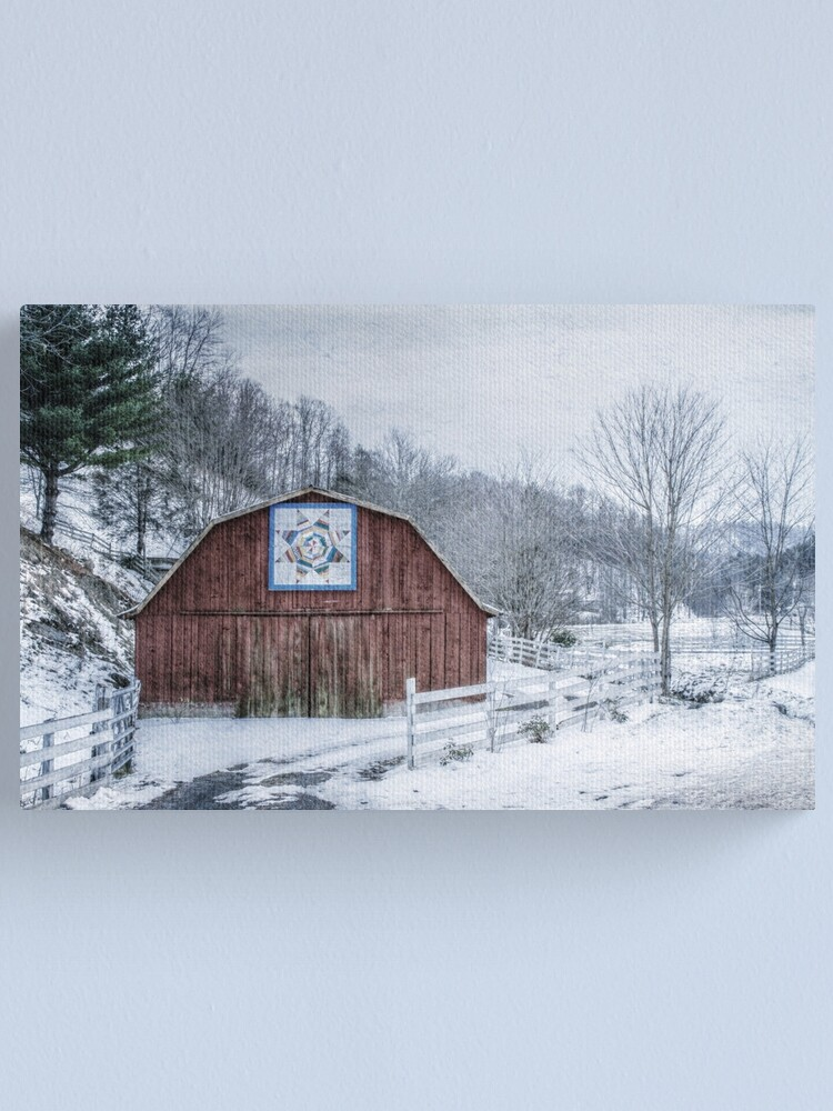 Alternate view of High Country Style Canvas Print