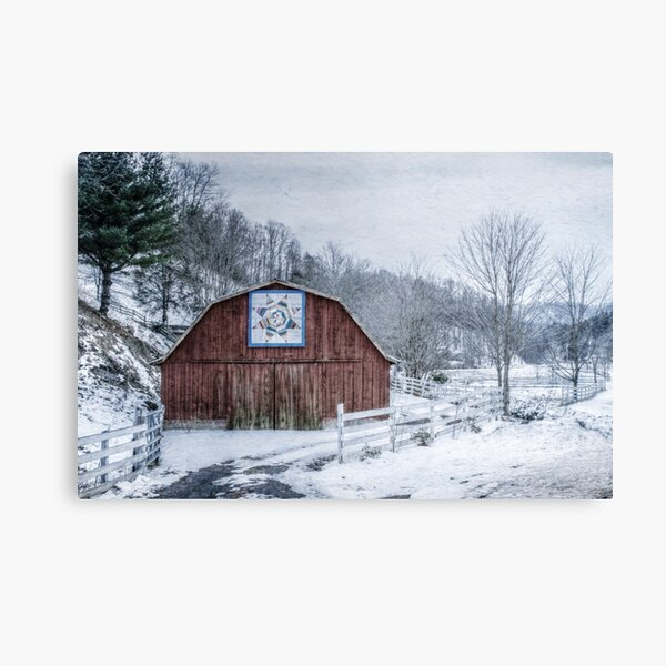 High Country Style Canvas Print