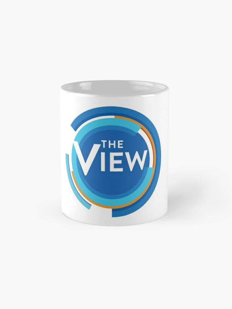 Alternate view of The View - Talk Show Logo Mug