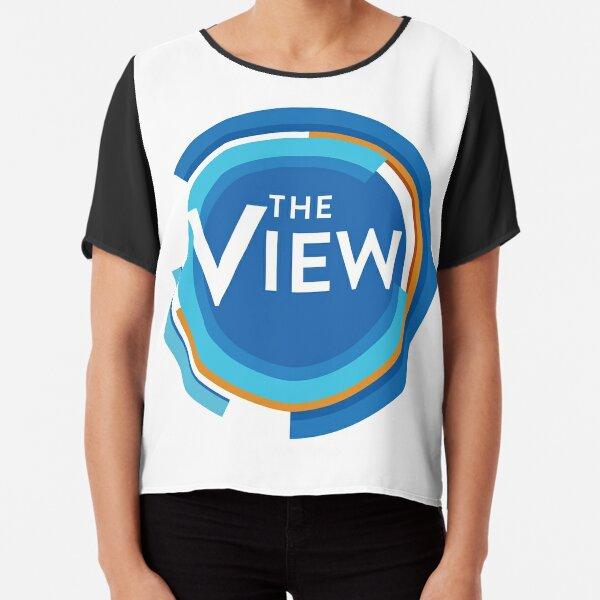 The View - Talk Show Logo Chiffon Top