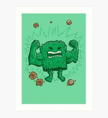 The Strongest Log of ALL Art Print
