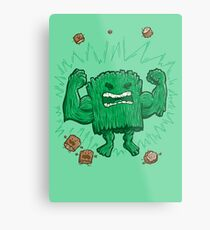 The Strongest Log of ALL Metal Print