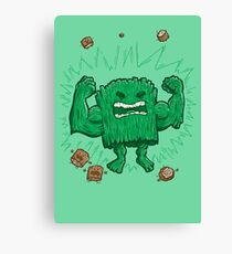 The Strongest Log of ALL Canvas Print