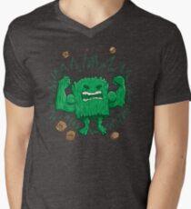 The Strongest Log of ALL Men's V-Neck T-Shirt