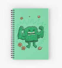 The Strongest Log of ALL Spiral Notebook