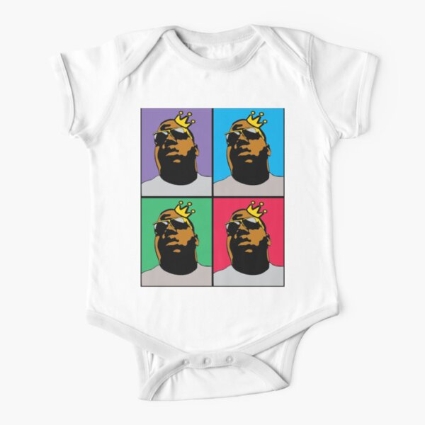 NOTORIOUS (4-COLOR) Short Sleeve Baby One-Piece