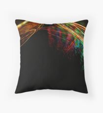Chariot of Fire by Bradley Blalock Throw Pillow