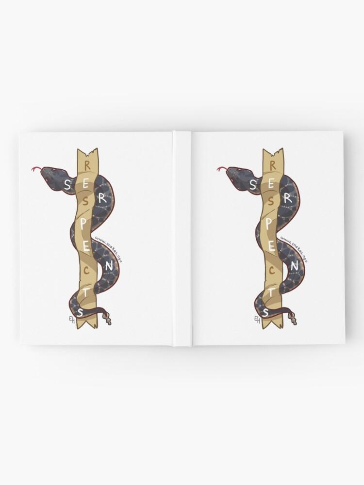 Alternate view of Respect Serpents: Arizona Black Rattlesnake Hardcover Journal