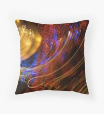 Hold the Rails by Bradley Blalock Throw Pillow