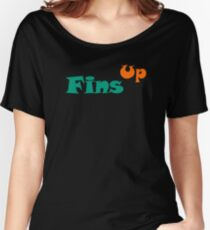 Fins Up Women's Relaxed Fit T-Shirt
