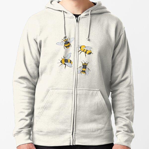 BEES? Zipped Hoodie