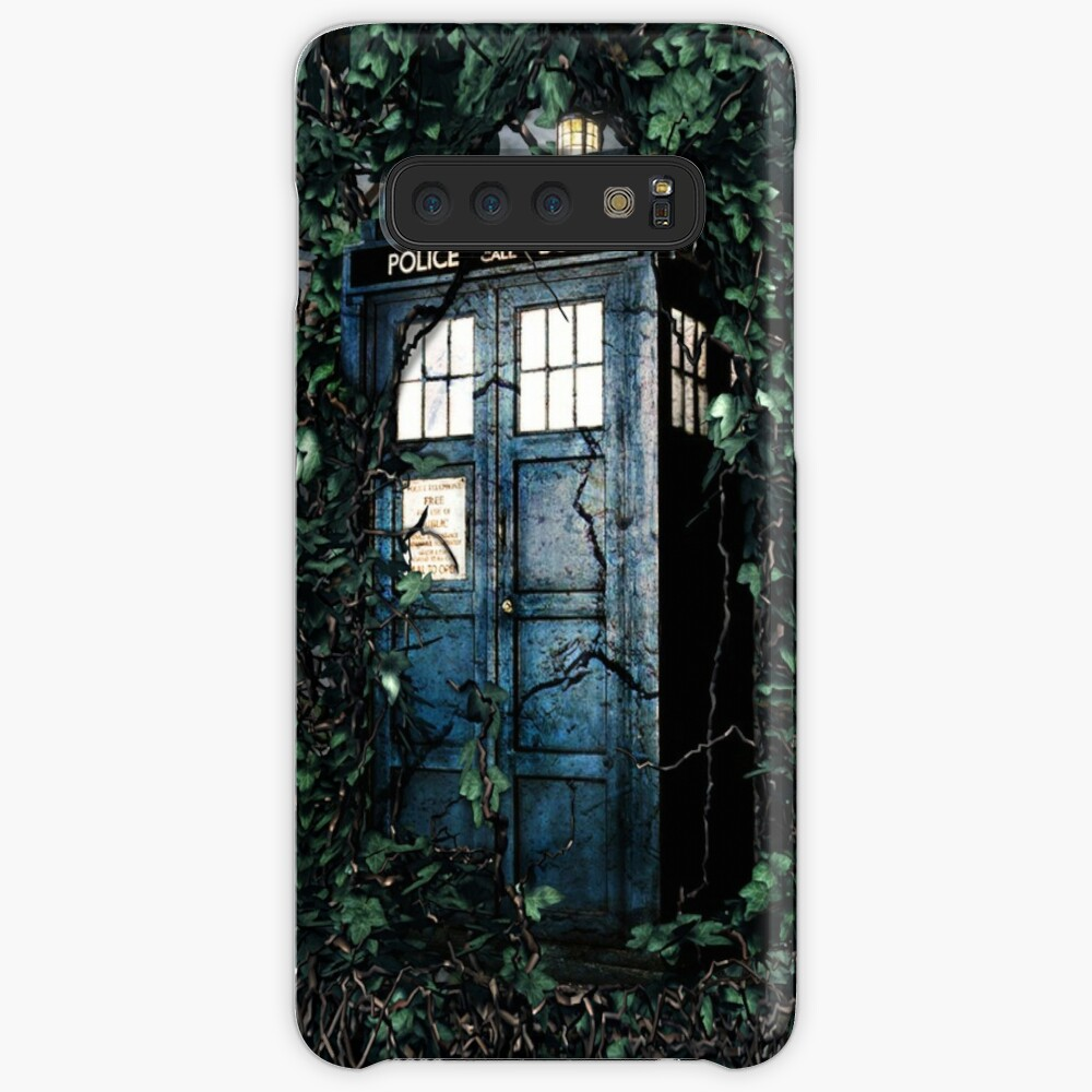 Police Box in The Garden Hoodie / T-shirt Case & Skin for Samsung Galaxy