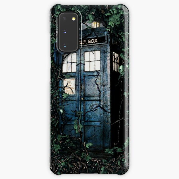 Police Box in The Garden Hoodie / T-shirt Samsung Galaxy Snap Case