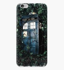Police Box in The Garden Hoodie / T-shirt iPhone Case