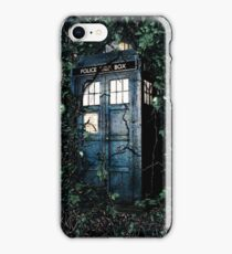 Police Box in The Garden Hoodie / T-shirt iPhone Case/Skin