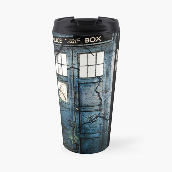 Police Box in The Garden Hoodie / T-shirt Travel Mug