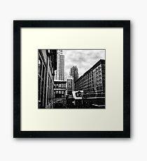 Winter In The City Of Hope Framed Print