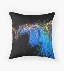 Their Forms Were Endless by Bradley Blalock Throw Pillow