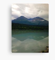 The Mountain's Mirror Canvas Print