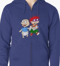Rugrats Tommy and Chuckie Zipped Hoodie