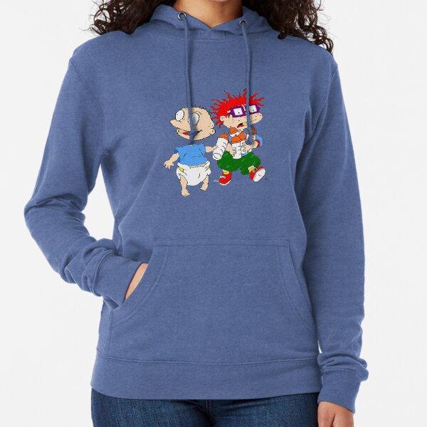 Rugrats Tommy y Chuckie Sudadera ligera con capucha