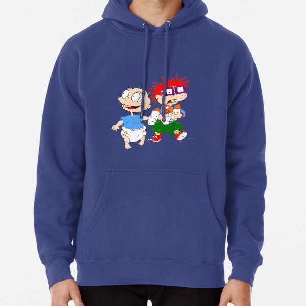 Rugrats Tommy y Chuckie Sudadera con capucha