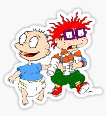 Rugrats Tommy and Chuckie Sticker
